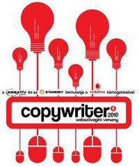 copywriter webszövegíró pályázat