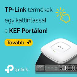 TP-Link hálózati eszközök már a KEF portálról is