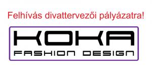 Koka Fashion Design divattervező pályázat