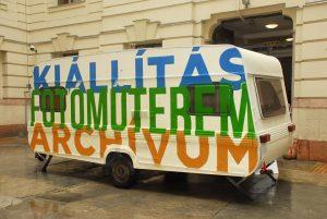 múzeumi lakókocsi